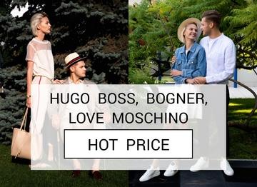 Распродажа одежды, обуви и аксессуаров брендов Hugo Boss, Bogner, Love Moschino с доставкой по Украине