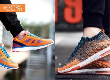 Asics, Nike, Sperry