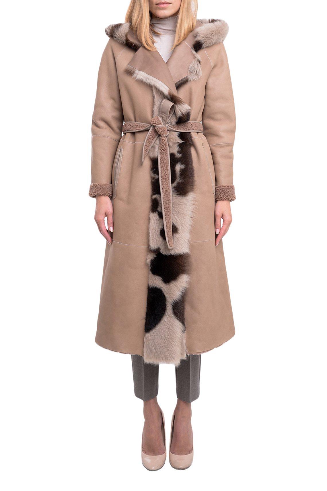 Пальто с мехом Vlasta Kopylova