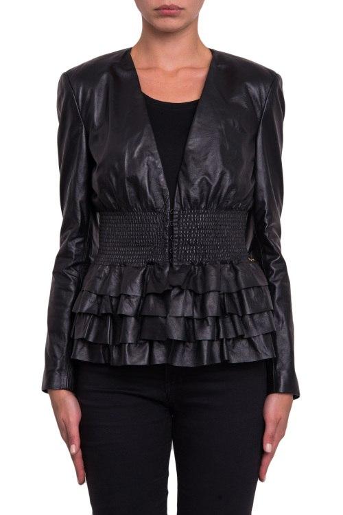 Кожаная куртка Elisabetta Franchi