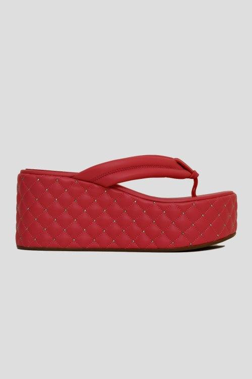 Шлепанцы на каблуке Le Silla