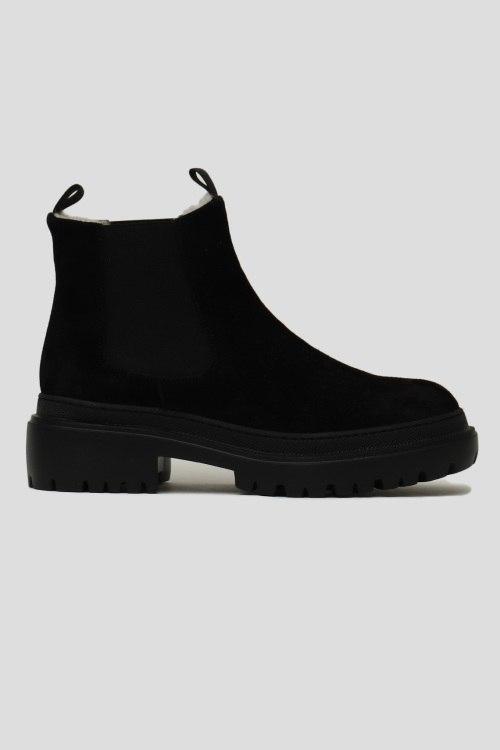 Ботинки на меху Pollini