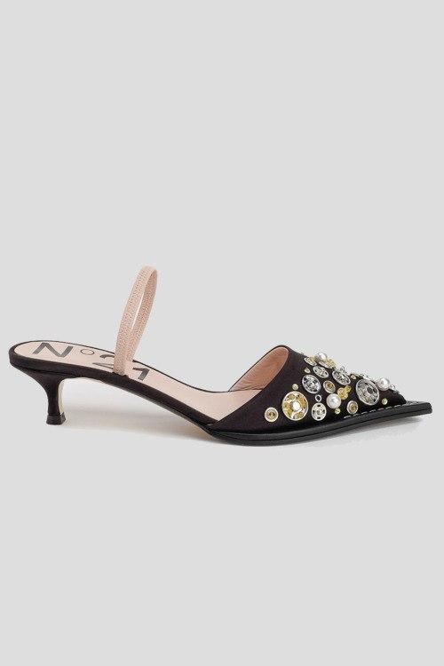 Босоножки на каблуке N21