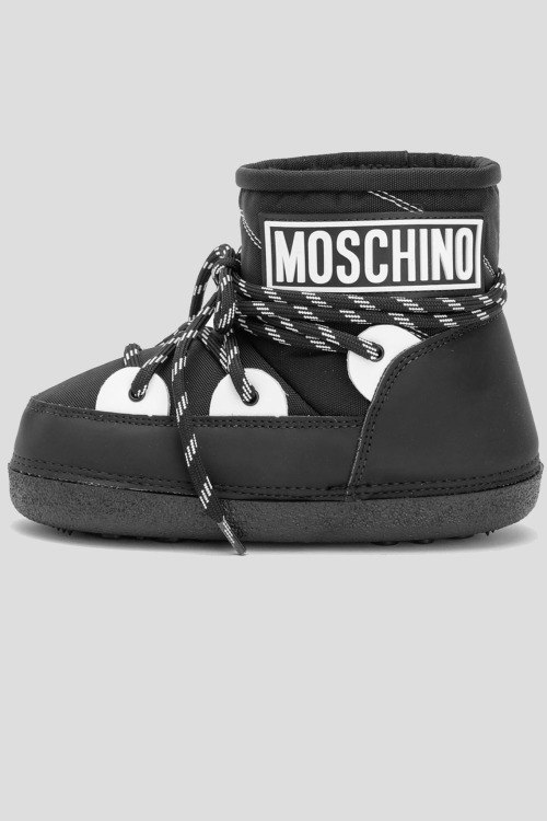 Сапоги на меху Moschino