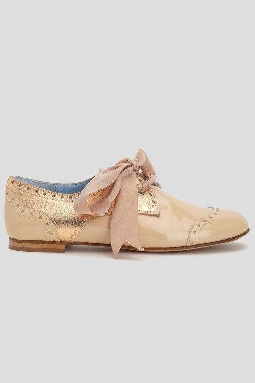Туфли без каблука Pollini