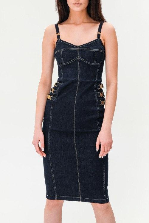 Джинсовое платье Elisabetta Franchi
