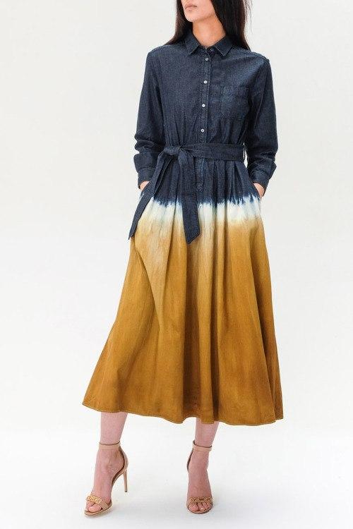 Джинсовое платье Max Mara