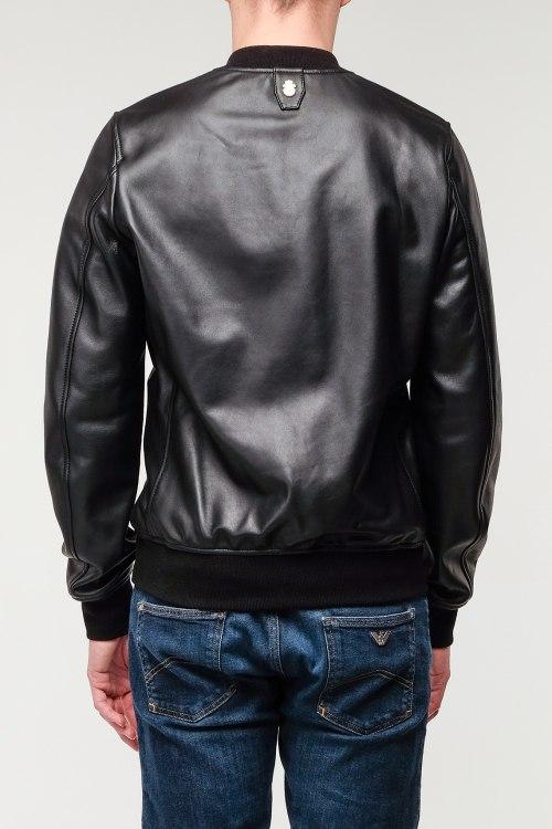 Кожаная куртка Billionaire