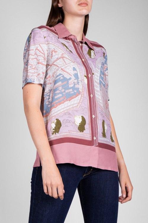 Блуза Santoni