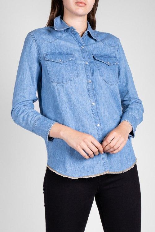 Джинсовая рубашка MiH Jeans