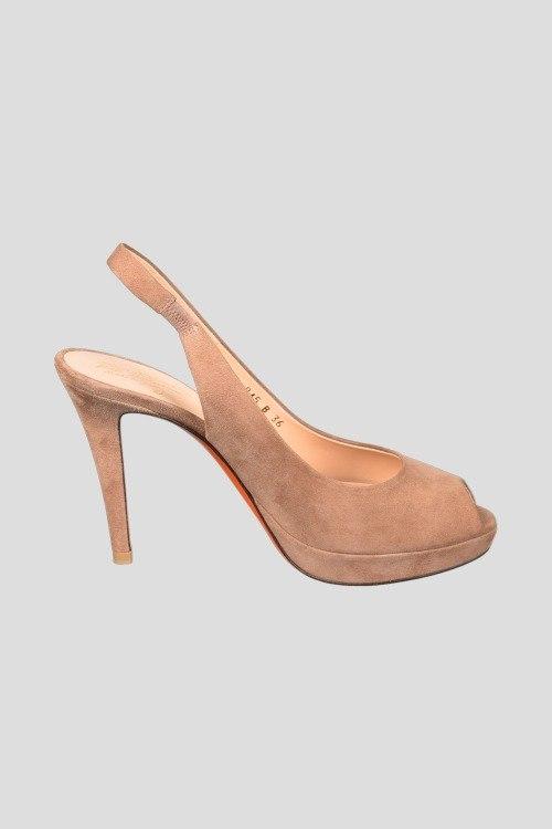 Босоножки на каблуке Santoni