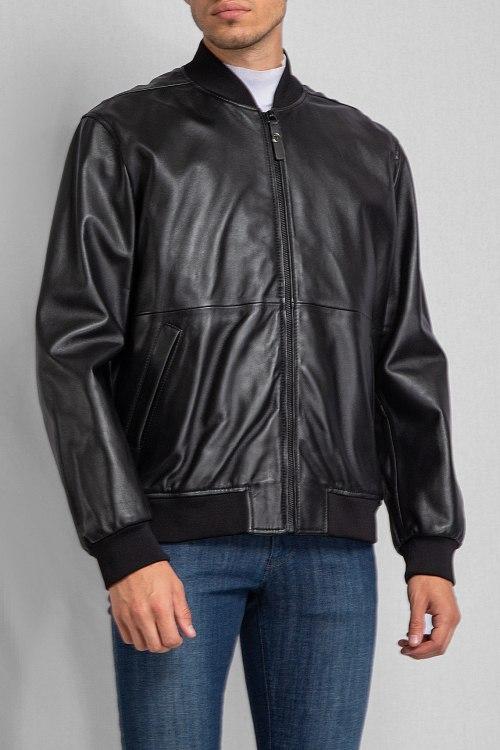 Кожаная куртка Trussardi