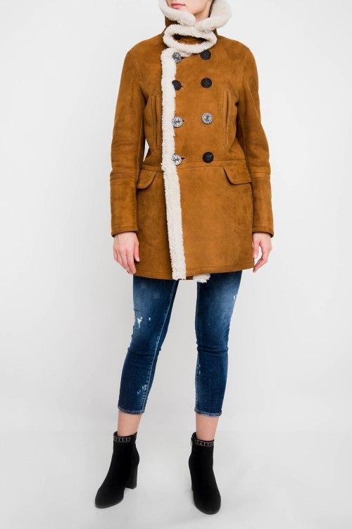 Куртка с мехом Dsquared2