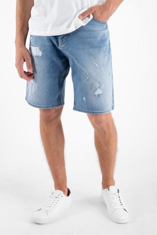 Джинсовые шорты Armani
