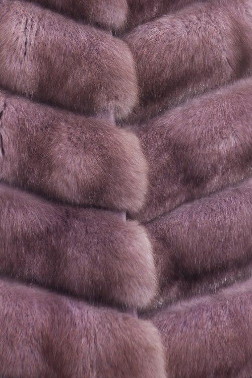 Жилет меховой Fabrizio Ferrario Furs