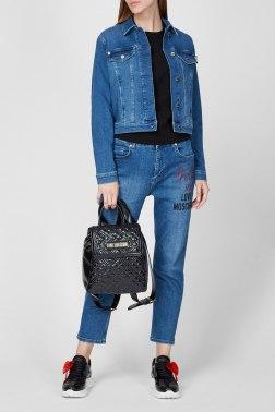Джинсовая куртка Love Moschino