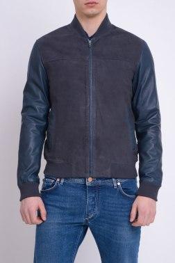 Кожаная куртка Hackett