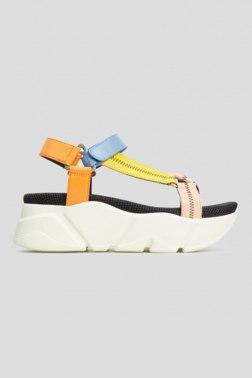 Босоножки на каблуке Voile Blanche
