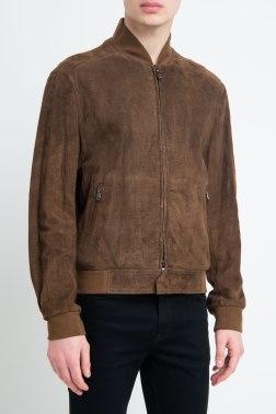 Кожаная куртка Brioni