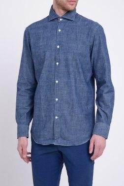 Джинсовая рубашка Boggi