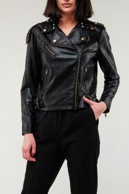 Кожаная куртка TWINSET