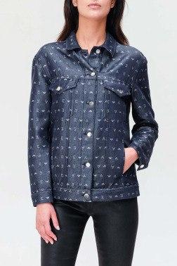 Джинсовая рубашка Emporio Armani