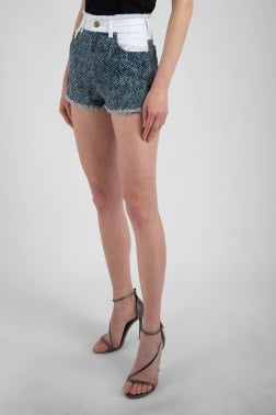 Джинсовые шорты Versace