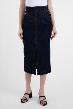 Джинсовая юбка Versace Jeans