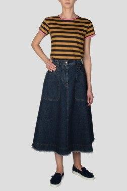Джинсовая юбка Alexa Chung