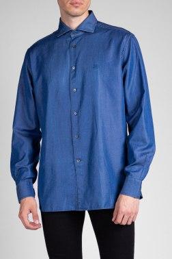 Джинсовая рубашка Corneliani