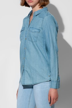 Джинсовая рубашка Tiffosi