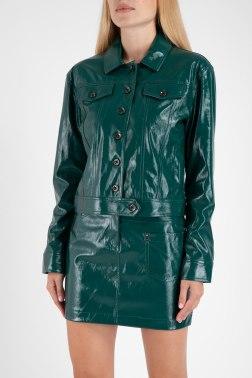 Кожаная куртка Patrizia Pepe