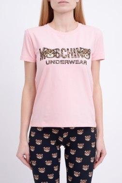 Домашняя футболка Moschino
