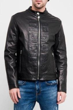 Кожаная куртка Dirk Bikkembergs