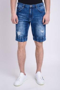 Джинсовые шорты Philipp Plein