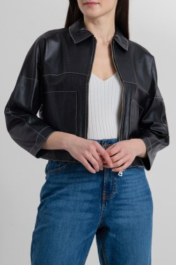 Кожаная куртка Beatrice