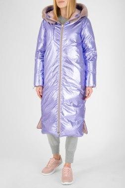 Пальто с мехом Diego M
