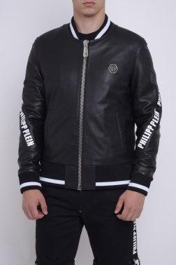 Кожаная куртка Philipp Plein