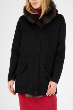 Пальто с мехом Antonio Didone