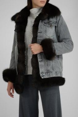 Куртка с мехом Nello Santi
