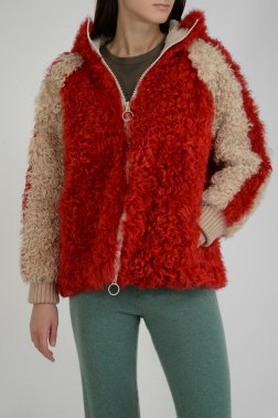 Куртка с мехом Giuliana Teso