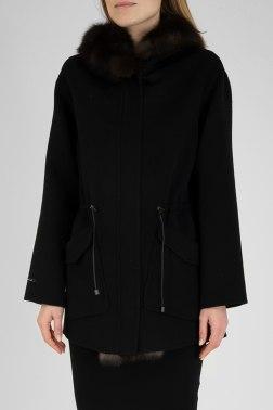 Пальто с мехом Nevris
