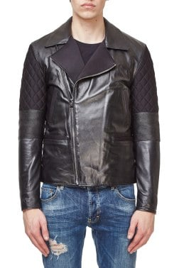 Кожаная куртка Cavalli Class